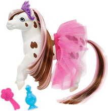Load image into Gallery viewer, Breyer Horses Color Changing Bath Toy | Blossum The Ballerina Horse | Brown/ White with Surprise Pink Color