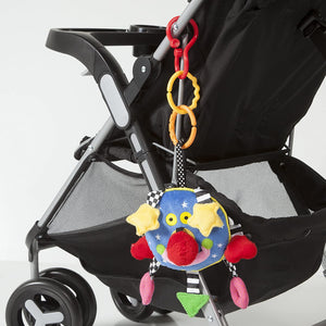 Whoozit Baby Stroller and Travel Activity Toy, 6 Inch
