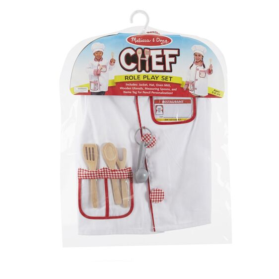 Chef Role Play Costume Set Item # 4838