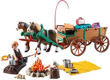 Load image into Gallery viewer, PLAYMOBIL Spirit Riding Free Lucky's Dad with Covered Wagon