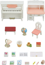 Load image into Gallery viewer, Calico Critter Piano & Desk Set