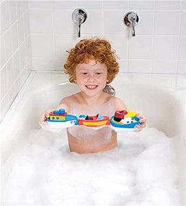 Magnetic Boats in the Tub