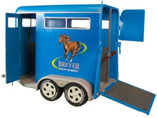 Load image into Gallery viewer, Breyer Traditional Series Two-Horse Trailer