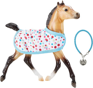 Breyer Traditional Series Milo - Foal with Friendship Bracelet