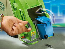 Load image into Gallery viewer, PLAYMOBIL Green Recycling Truck