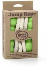 Load image into Gallery viewer, Green Toys Jump Rope - BPA Free, Phthalates Free, Green Handle Skipping Rope