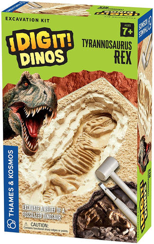 Thames & Kosmos I Dig It! Dinos T. Rex Excavation | Science Experiment Kit | Excavate A Tyrannosaurus Rex Dig Site | Paleontology | Dinosaur Toy | Oppenheim Toy Portfolio Platinum Award Winner
