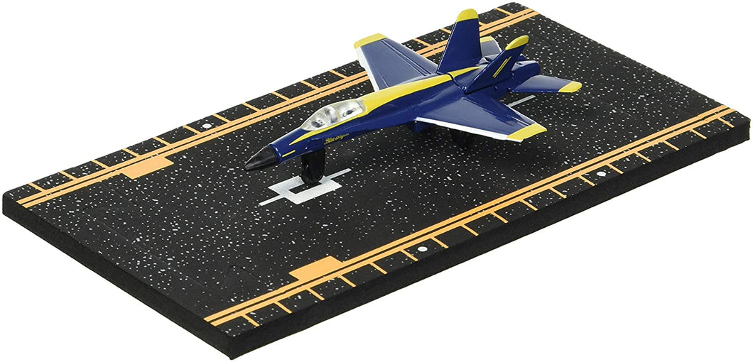 Hot Wings F-18 Blue Angels with Connectible Runway