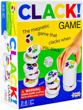 Load image into Gallery viewer, CLACK! Kids Magnetic Stacking Game with 36 Magnets