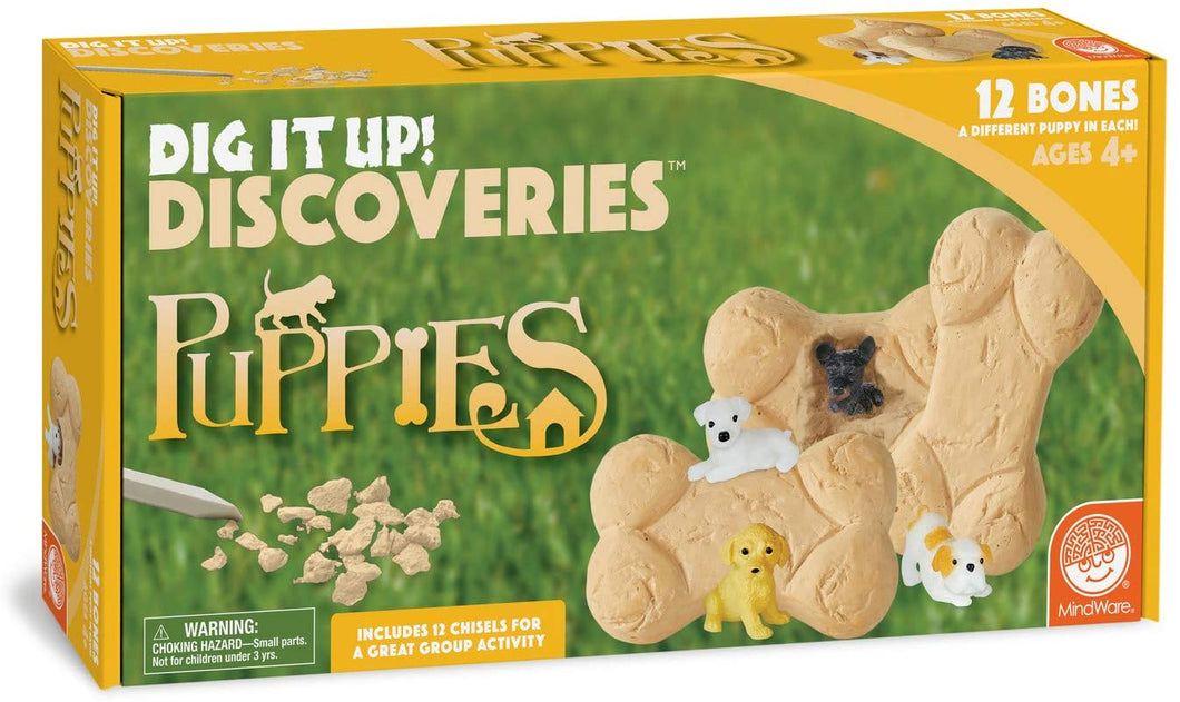 MindWare Dig It Up! Discoveries (Puppies)