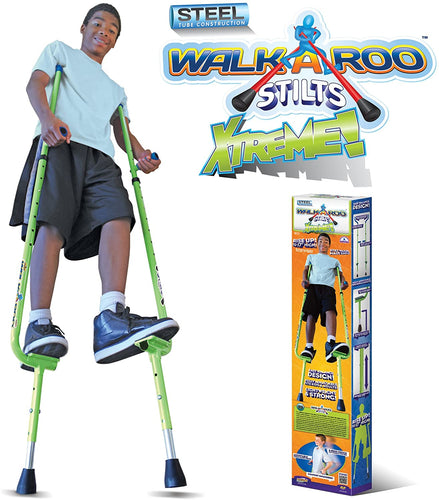 WALKAROO Xtreme Steel Balance Stilts with Height Adjustable Vert Lifters