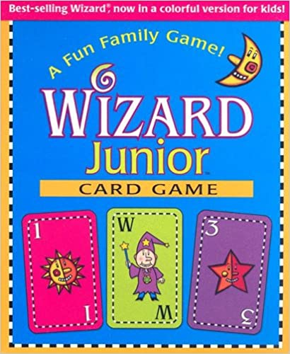 Wizard Junior Card Game: A Fun Family Game