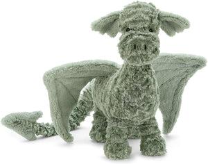 Jellycat Drake Dragon Stuffed Animal, 20 inches
