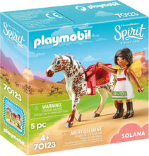 Load image into Gallery viewer, PLAYMOBIL Spirit Riding Free Vaulting Solana