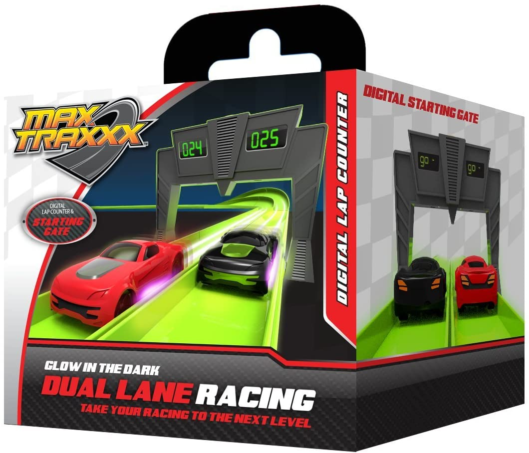 Max Traxxx R/C Remote Control Digital Lap Counter Add On Module