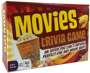 Movies Trivia Game - Fun Cinema Question Based Game Featuring 1200 Trivia Questions