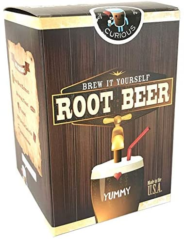 Brew it Yourself Root Beer Kit | Copernicus Toys | For Ages 8 and Up | Make couple of gallons of fresh brewed soda pop | Safe & non toxic | Made in the USA