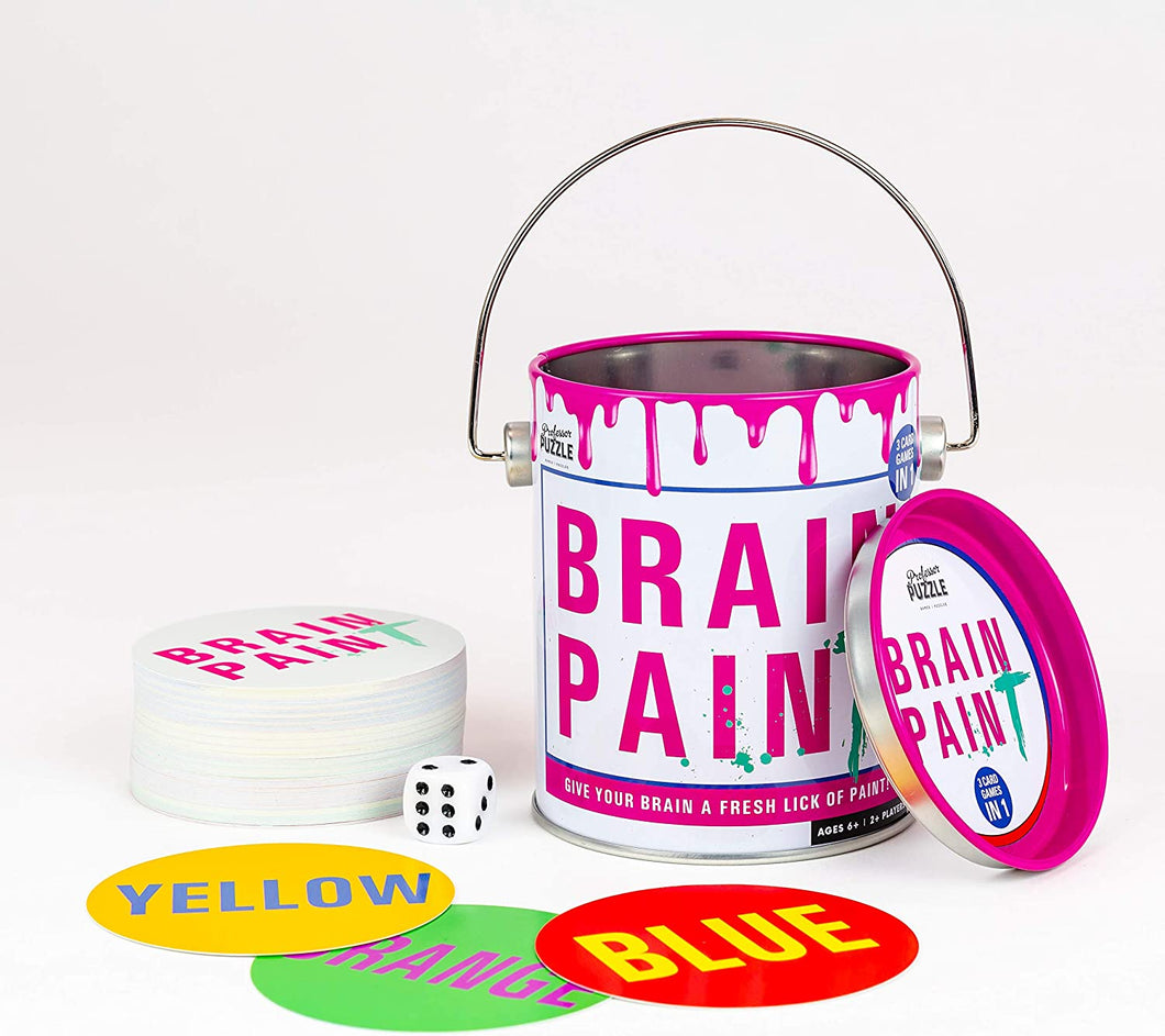 Brain Paint - 3 Engaging & Brain stimulating Card Games