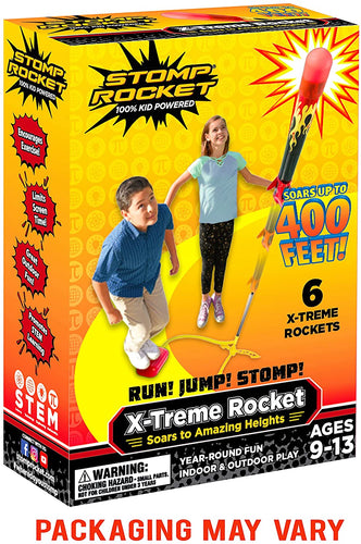 Stomp Rocket X-Treme Rocket - Outdoor Rocket Toy Gift for Boys and Girls - Ages 9 Years Up (X-Treme Rocket)