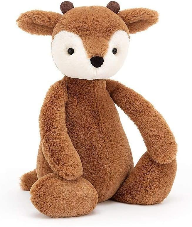 Jellycat Bashful Fawn Stuffed Animal, Medium 12 inches