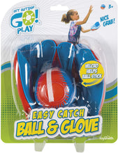 Load image into Gallery viewer, Get Outside GO! Super Sport Easy Catch Ball & Glove Set (Packaging May Vary)