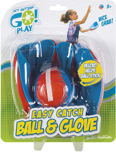 Get Outside GO! Super Sport Easy Catch Ball & Glove Set (Packaging May Vary)
