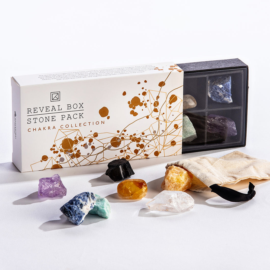 Chakra Collection Reveal Box Stone Pack