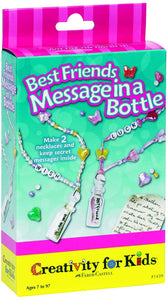 Creativity for Kids Best Friends Message in a Bottle