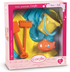 Corolle Mon Premier Baby Doll Bath Time Accessories Set