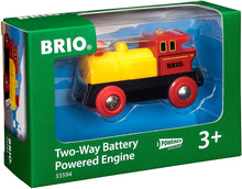 Load image into Gallery viewer, BRIO World Two-Way Battery-Operated Engine | Train Toy for Kids Ages 3 and Up