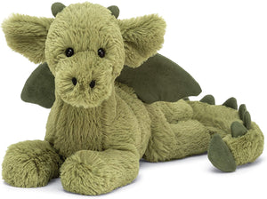Jellycat Small Monty Dragon