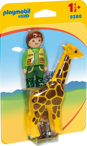 PLAYMOBIL Zookeeper with Giraffe