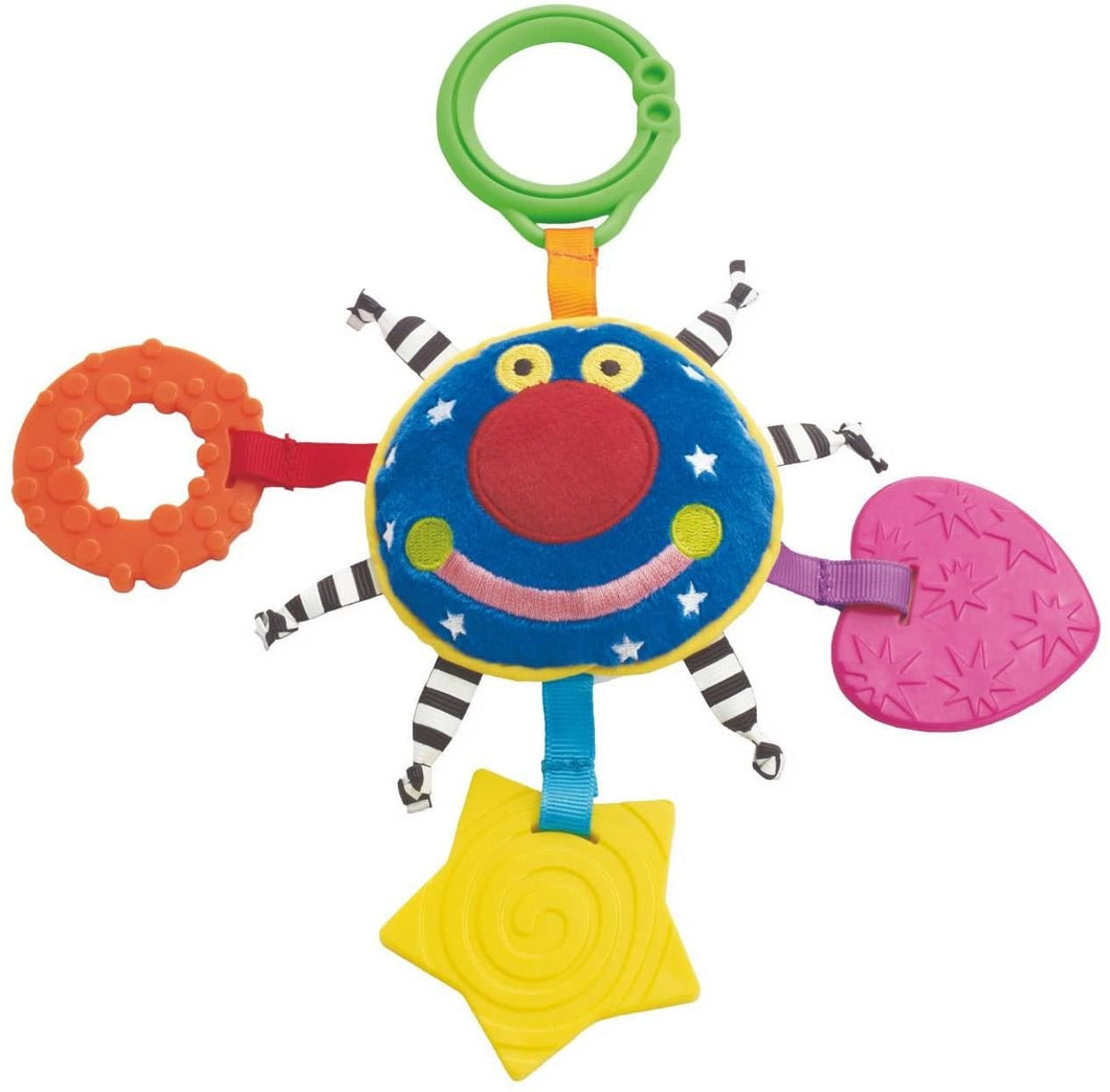 Whoozit Orbit Teether Soft Activity and Travel Toy