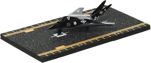 Hot Wings F-117 Nighthawk Jet with Connectible Runway