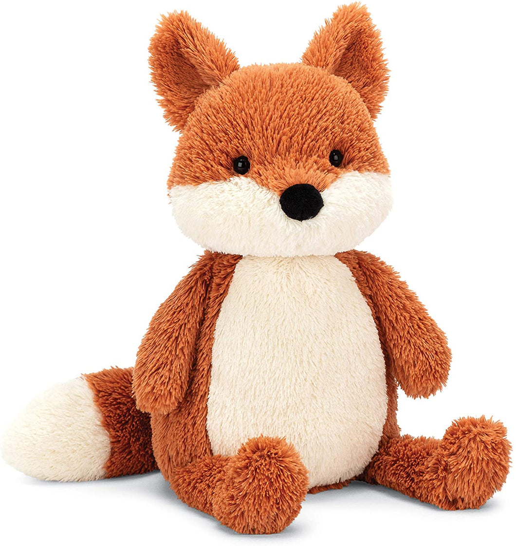 Jellycat Peanut Fox Stuffed Animal, Medium 12 inches