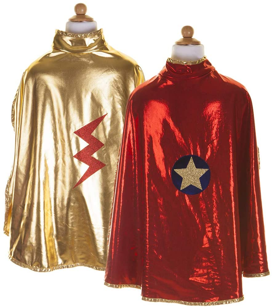 Great Pretenders Reversible Wonder Cape Dress Up Play