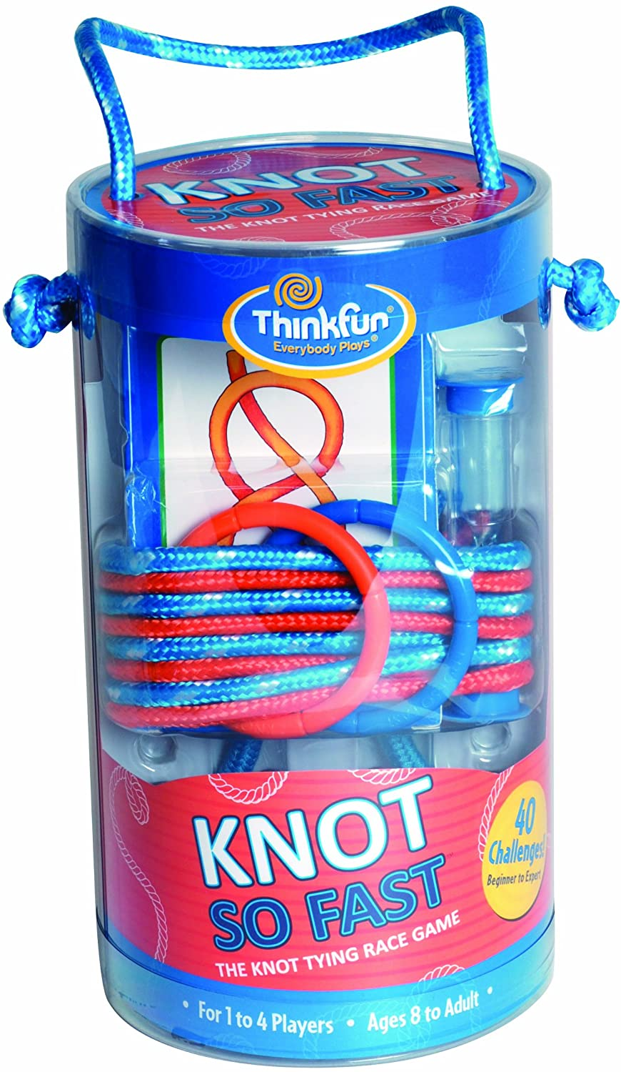 Knot So Fast Innovative Knot Tying Game with 40 Challenges