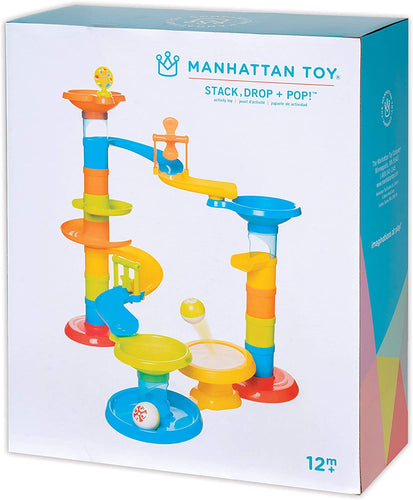 Stack, Drop & Pop! Preschool Activity Toy