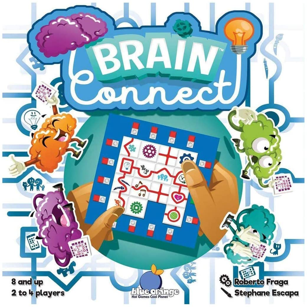 Brain Connect Multi-Player Puzzle Race Card Game