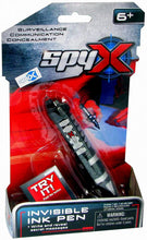 Load image into Gallery viewer, SpyX Invisible Ink Pen - Write and Read Invisible Messages with This Fun Spy Toy