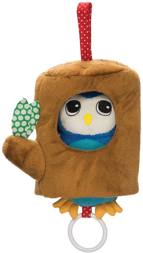 Lullaby Owl Pull Musical Crib and Baby Toy