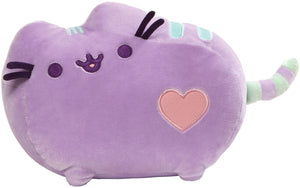 GUND Pusheen Heart Pastel Cat Plush Stuffed Animal, Purple, 12""