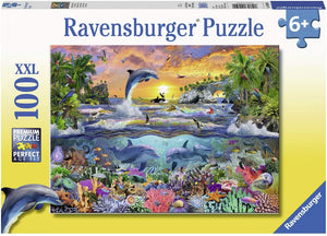 Ravensburger 10950 Tropical Paradise, 100 Piece Puzzle