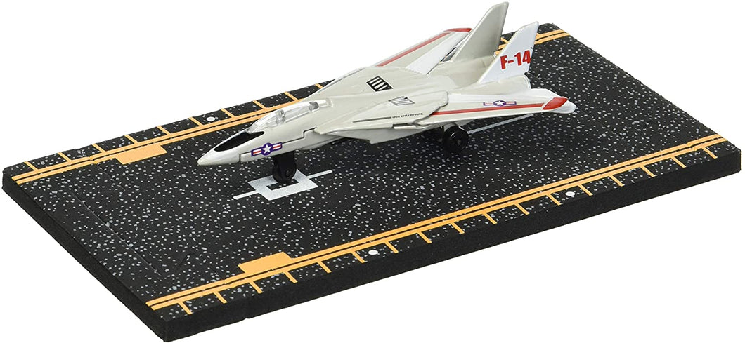 Hot Wings F-14 Tomcat (with Military Markings) with Connectible Runway