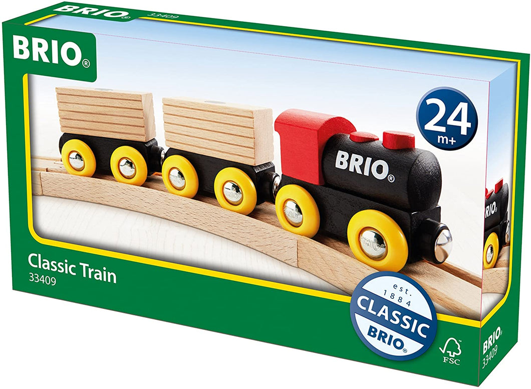 Brio World Classic Train Set | 5 Piece Train Toy for Kids Ages 2 and Up