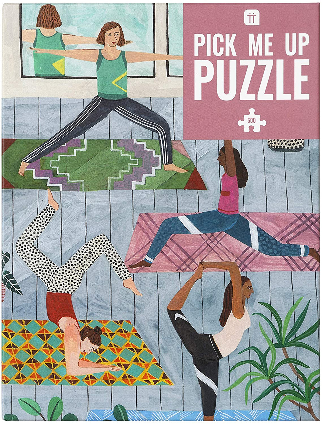 Talking Tables Jigsaw Puzzles for Adults Party Games Yoga | 500Piece
