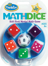 Load image into Gallery viewer, Math Dice Junior Game for Boys and Girls Age 6 and Up - Teachers Favorite and Toy of the Year Nominee