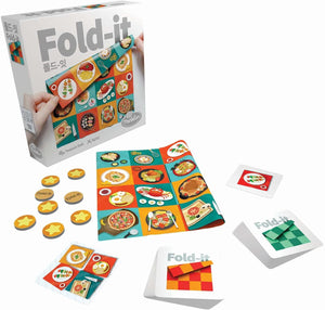Fold-It Brainteaser Challenge Game - Innovative Folding Game Using Soft Cloth