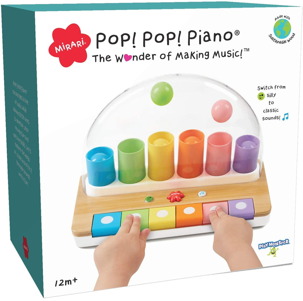 Mirari Pop! Pop! Piano -- The Wonder of Making Music!