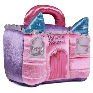 GUND Princess Castle Stuffed Plush Playset, 8""